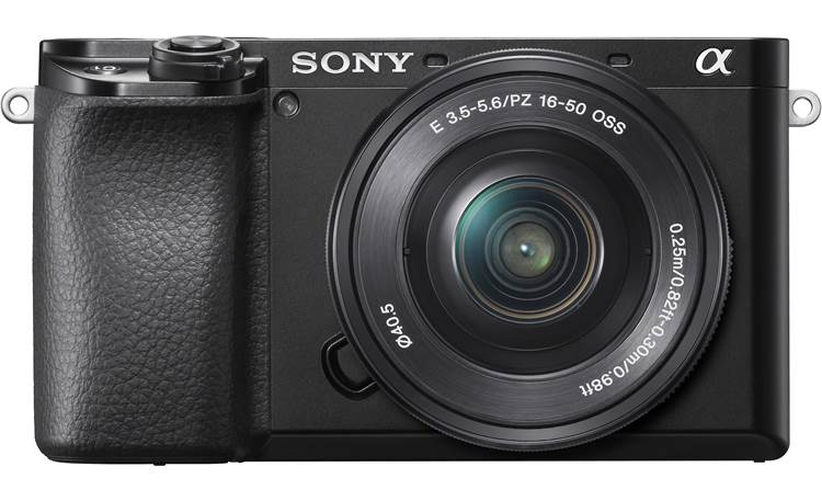 Sony Alpha a6100 Kit Front, straight-on
