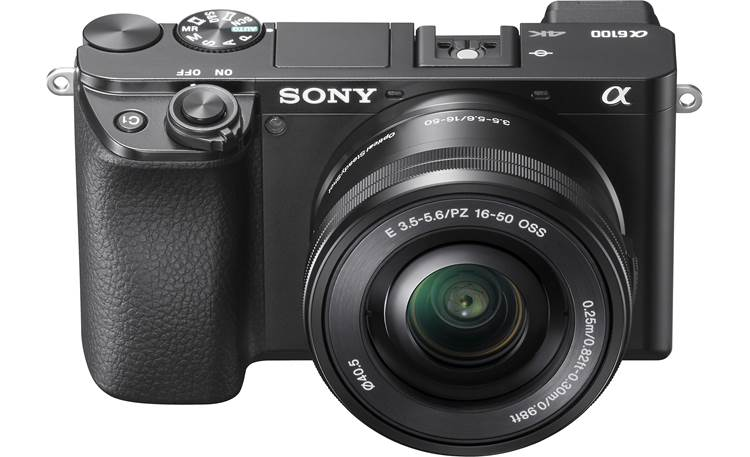 Sony Alpha a6100 Kit Angled front view
