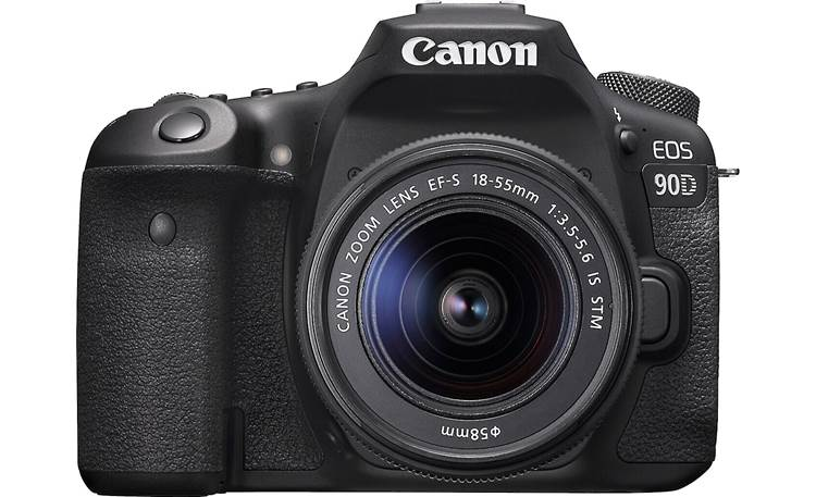 Canon EOS 90D Kit Front, straight-on