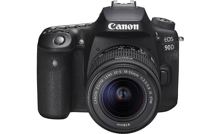 Canon EOS 90D Kit Angled front view