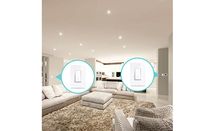 TP-Link HS210KIT Smart Light 3-way Kit This kit is designed for areas where the same lights are controlled by two different switches