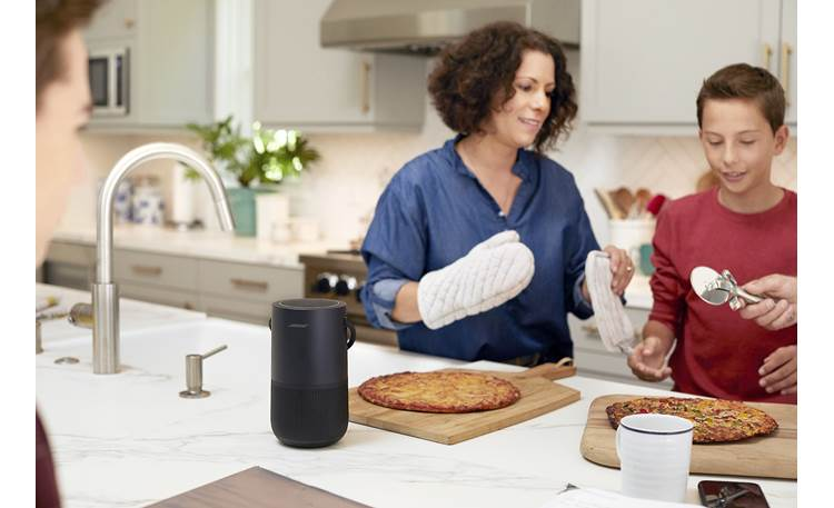 Bose® Portable Home Speaker Moisture-resistant - ideal for kitchen use