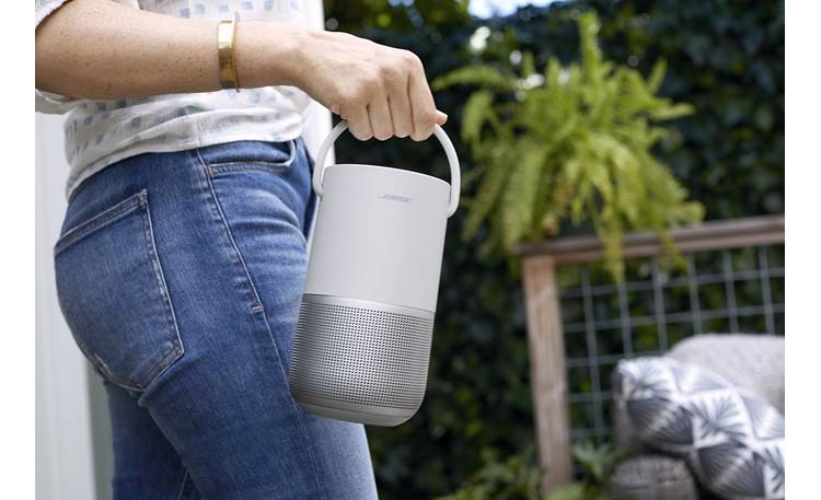 Bose® Portable Home Speaker Built-in carry handle for easy transport