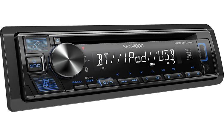 Kenwood KDC-BT278U Play your high-res audio files loaded on a USB drive