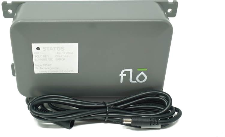 Flo by Moen Battery Backup Front