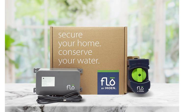 Flo by Moen Battery Backup Keeps Flo (sold separately) powered for 3+ days during power outages