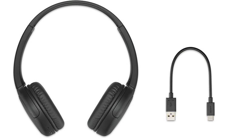 Sony WH-CH510 With included USB-C charging cable