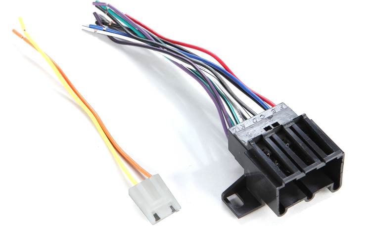 Metra 70-1677-1 Receiver Wiring Harness Front