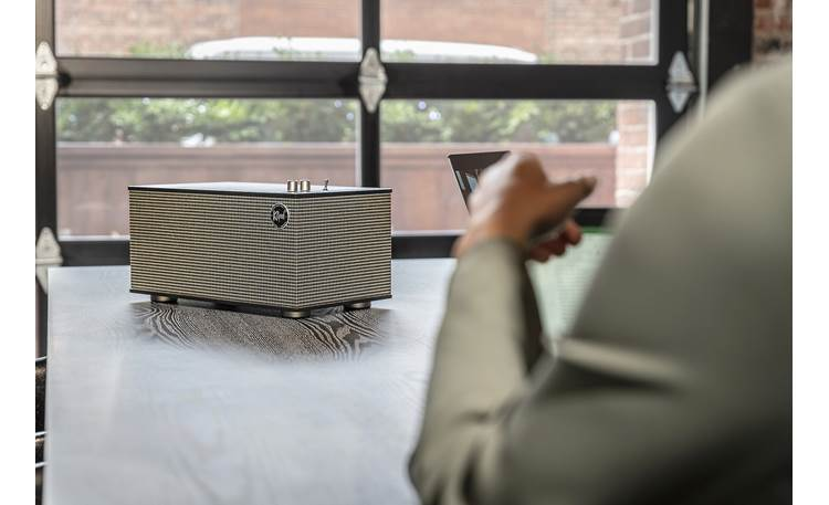 Klipsch The Three II Stream wirelessly via Bluetooth