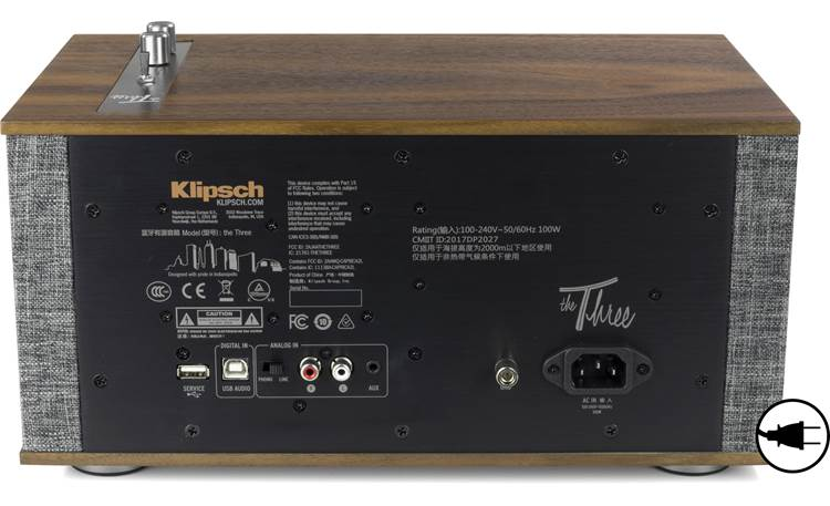 Klipsch The Three II AC Power Required