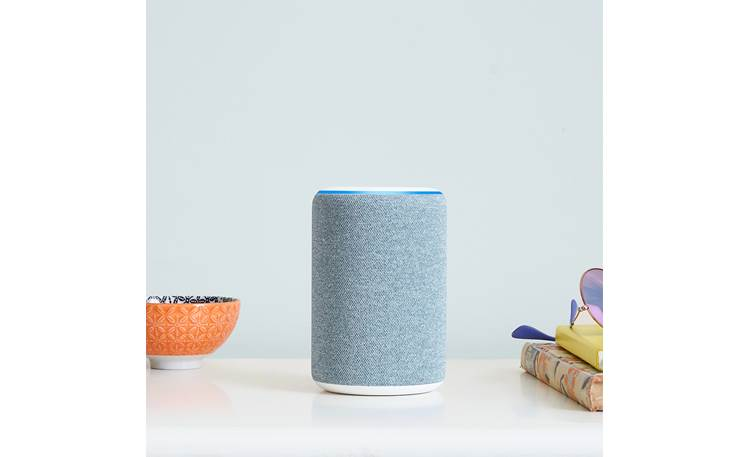 Amazon Echo (3rd Generation) Compact form lets the Echo fits just about anywhere in your home