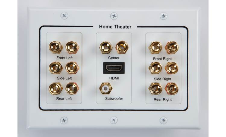 Metra Ethereal 7.1 Home Theater Wall Plate Other