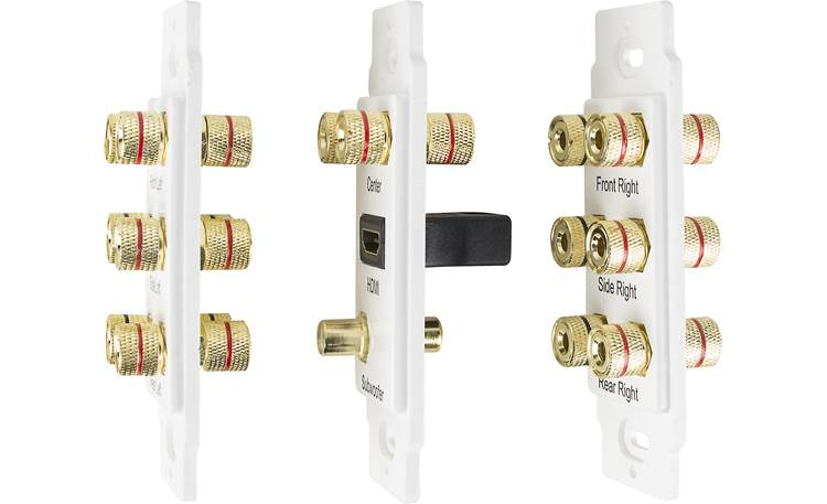 Metra Ethereal 7.1 Home Theater Wall Plate Side view