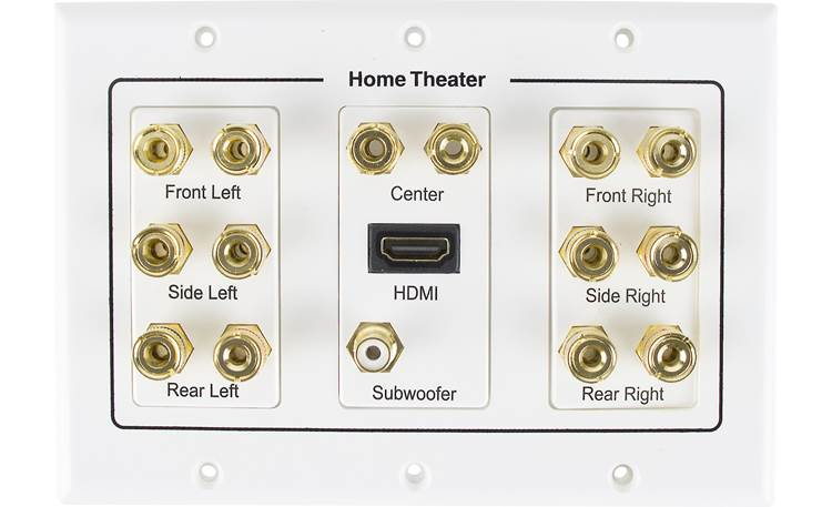 Metra Ethereal 7.1 Home Theater Wall Plate Front
