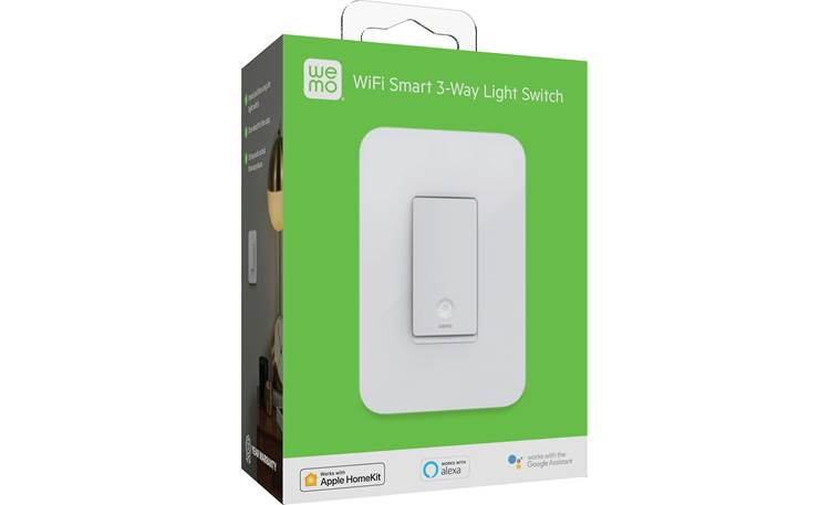 Belkin Wemo Smart Light Switch 3-Way Works with 3-way or single-pole configurations