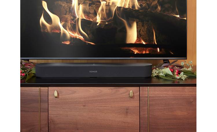 Sonos Beam 5.1 Home Theater System Beam - low profile lets it fit under most TVs