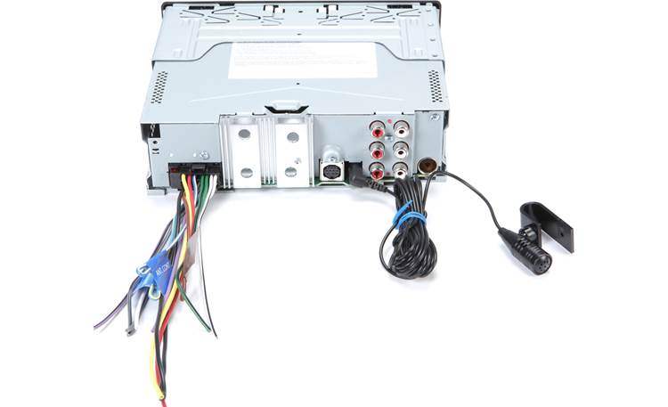 Kenwood KDC-BT778HD Rear panel with included wiring harness