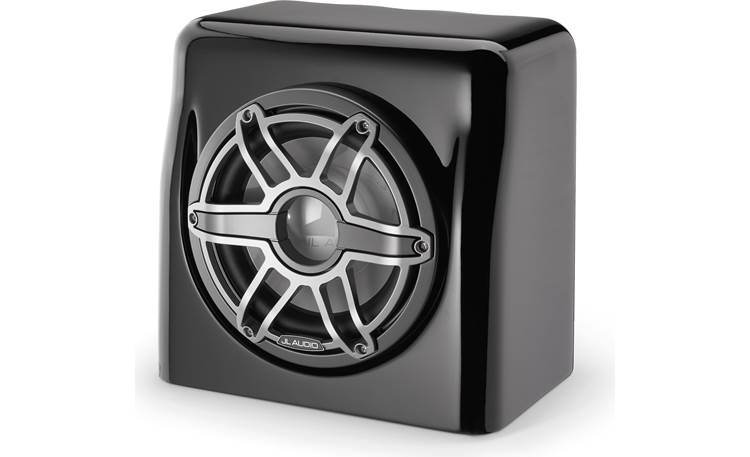JL Audio M6-10FES-Gb-s-GmTi-4 marine subwoofer in sealed enclosure