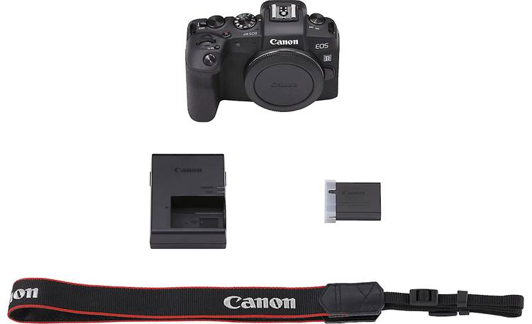 Canon EOS RP (no lens included) Shown with included accessories
