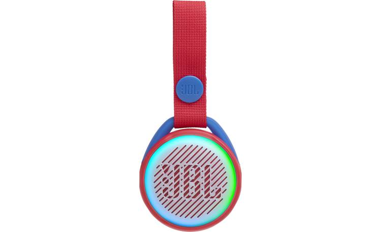 JBL JR POP Apple Red - built-in multi-color LED lights