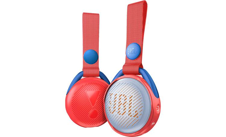 JBL JR POP Apple Red - front and back view