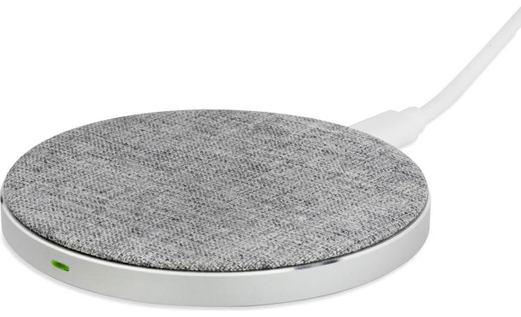 Scosche Charge Surface Pad This tabletop wireless Qi charger will charge up your Qi-enabled phone quickly