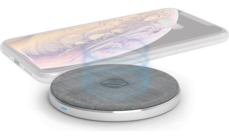 Scosche Charge Surface Pad (see-through phone not included)