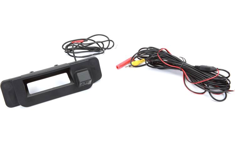 Crux CMB-17C Crux builds this rear-view camera into a vehicle-specific replacement trunk handle