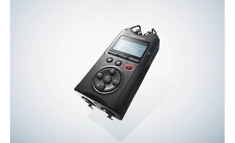 Tascam DR-40X Angled view
