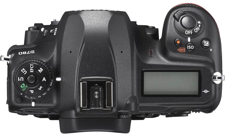 Nikon D780 (body only) Top-panel controls and display