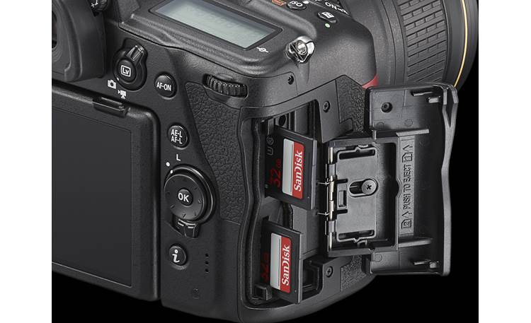 Nikon D780 (body only) Dual SD card slots for redundant recording
