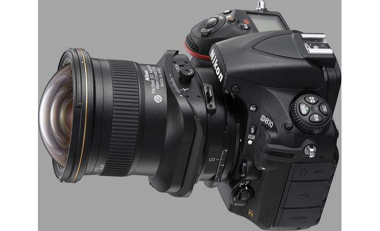 Nikon PC Nikkor 19mm f/4E ED Shown on Nikon D810 (camera not included)