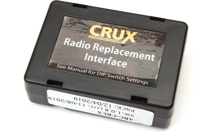 Crux SWRSU-38B Wiring Interface Other