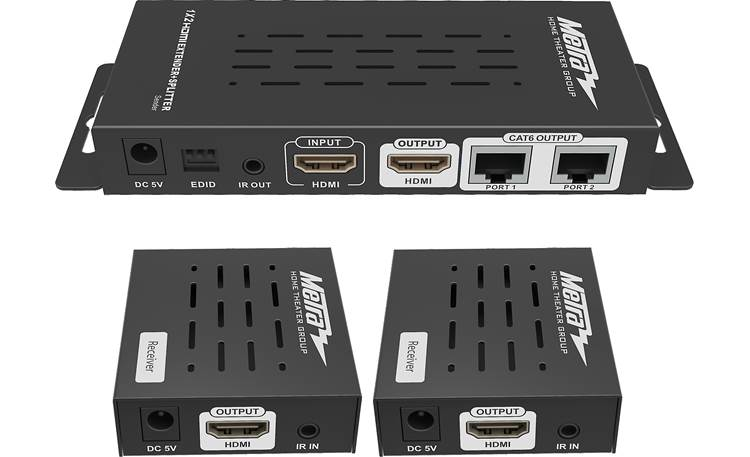 Metra HDMI Splitter and Extender Kit Front