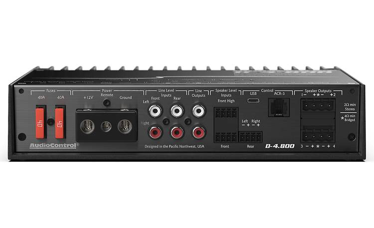 AudioControl D-4.800 Other