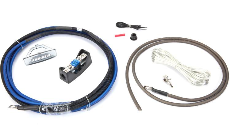 Kicker 46PK8 8-gauge amplifier power wiring kit