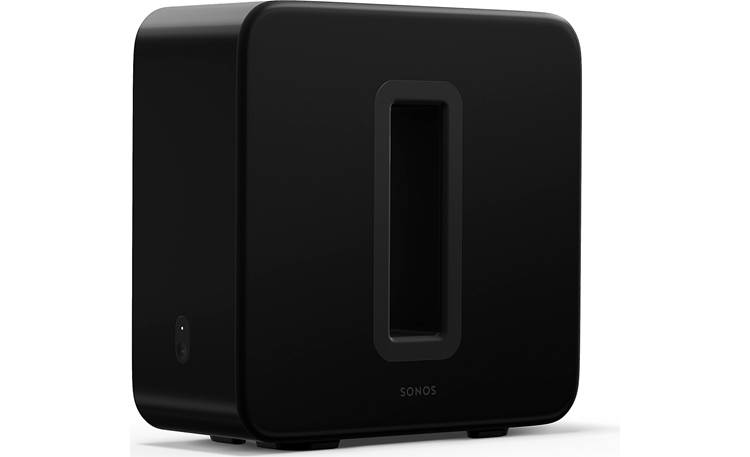 Sonos Beam 5.1 Home Theater System Sub (Gen 3) - two force-canceling woofers deliver deep, rich bass with no cabinet buzz or rattle