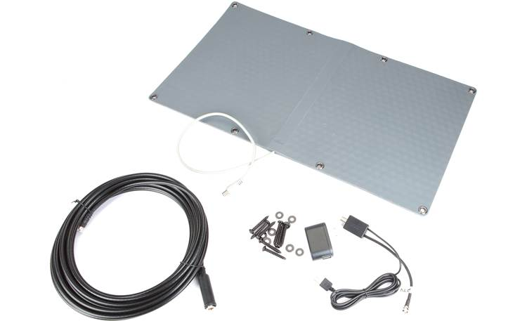 Mohu Ranger Antenna and supplied accessories