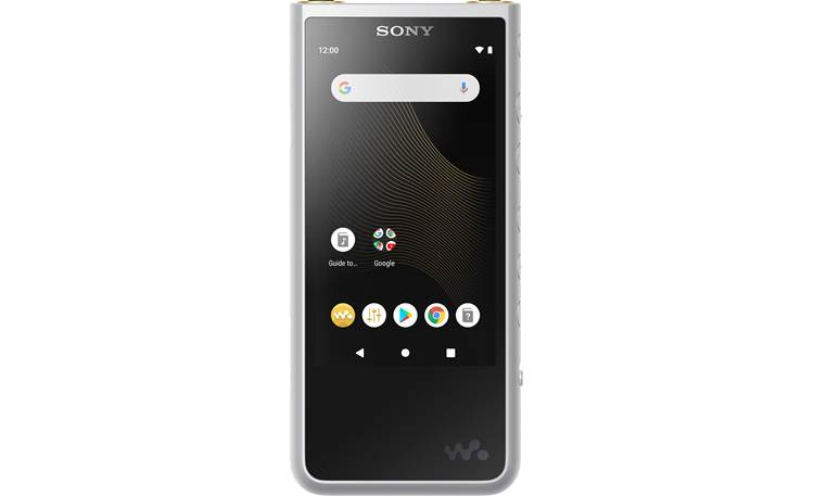 Sony NW-ZX507 Walkman® Works with popular Android music apps for Wi-Fi streaming and downloads