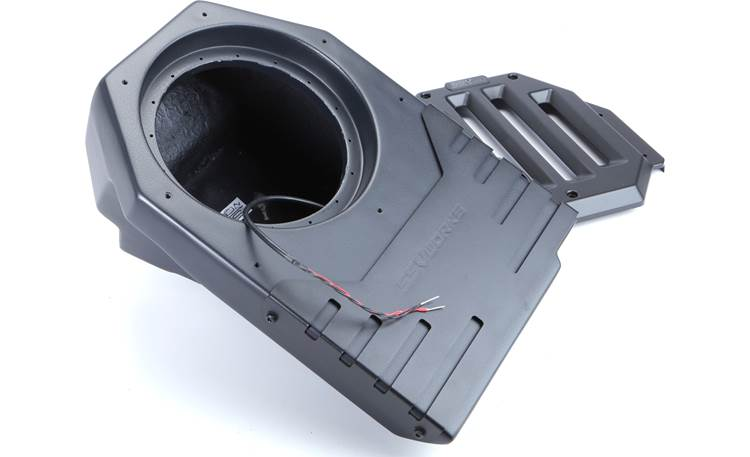 SSV Works JJL-DS10U Available unloaded (shown) or loaded with an SSV Works or Kicker sub