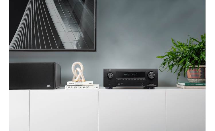 Denon AVR-X3700H (2020 model) Shown in room