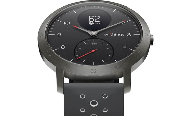 Withings Steel HR Sport Steel HR Sport combines analog and digital displays
