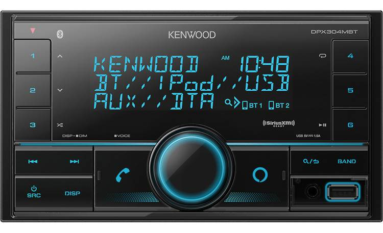 Kenwood DPX304MBT Built-in Amazon Alexa expands your features with voice-control