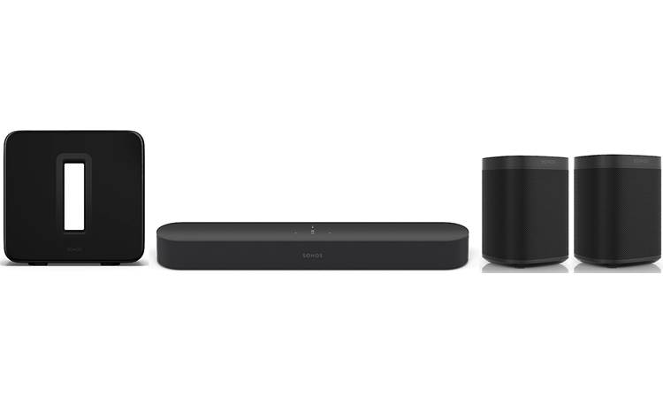 Sonos Beam 5.1 Home Theater System Front