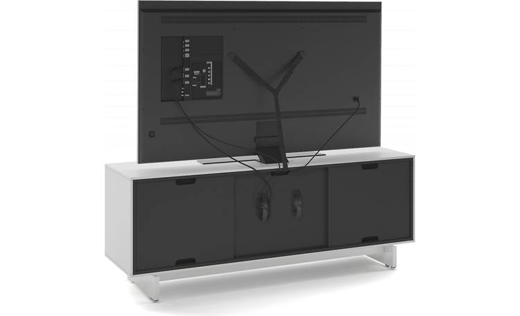 "BDI Align 7477 Media Cabinet Supports TVs up to 70"" (TV not included)"