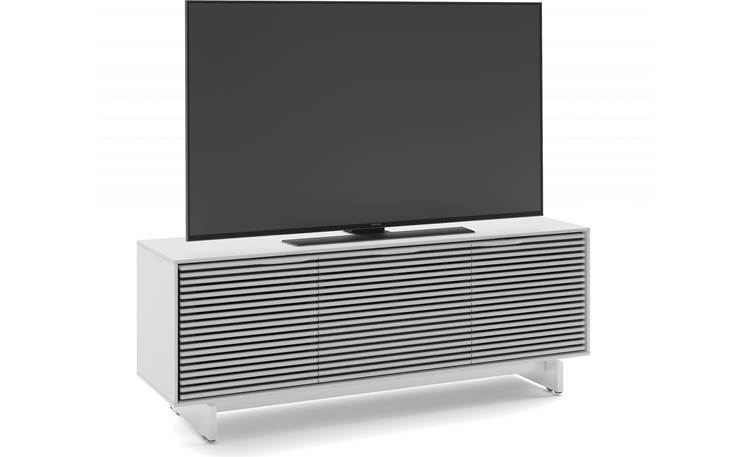 BDI Align 7477 Media Cabinet Left front (TV not included)