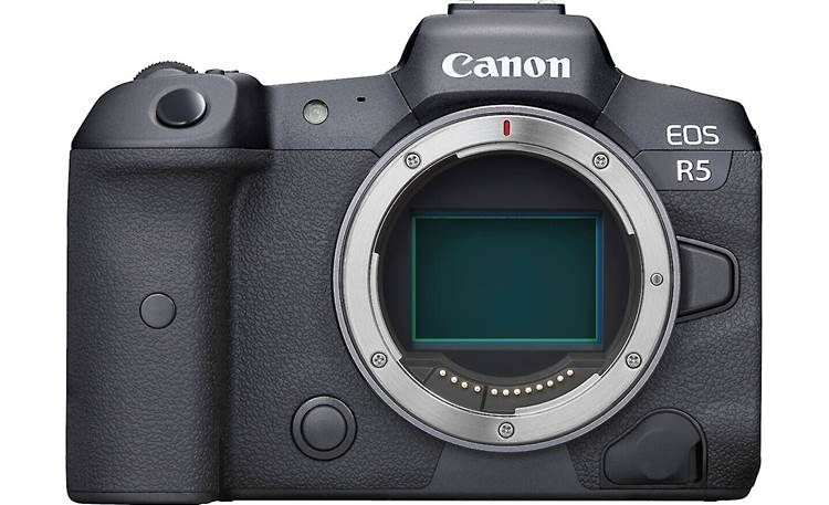 Canon EOS R5 (no lens included) A 45-megapixel full-frame CMOS sensor captures ultra-high-resolution photos and videos