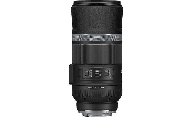 Canon RF 600mm f/11 IS STM Shown retracted