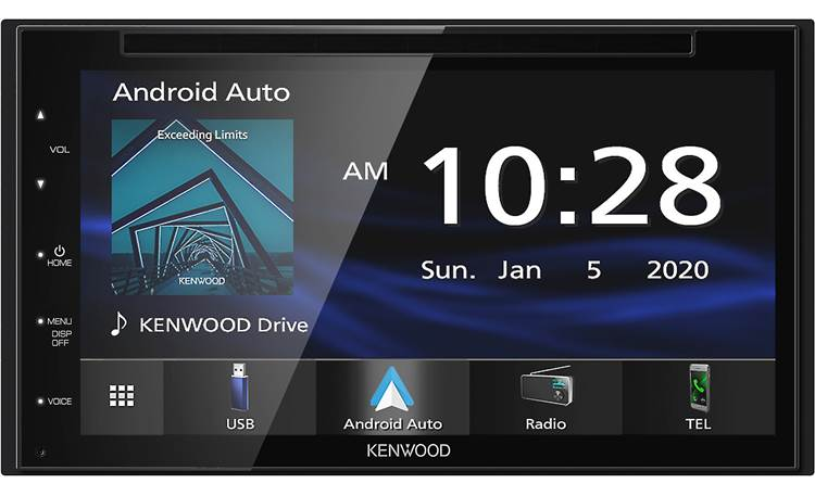 Kenwood DDX5707S Let the 6.8