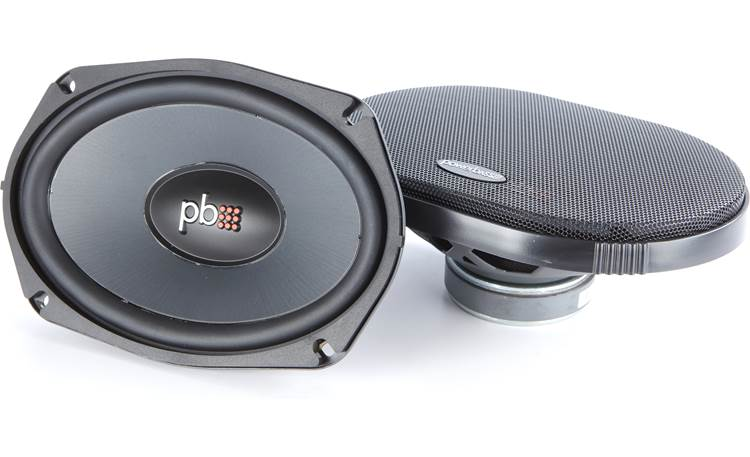 PowerBass L2-690D Replace the old speakers in your 2-ohm factory system